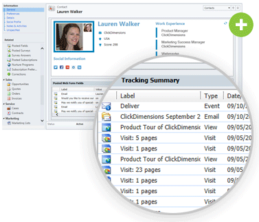web tracking visitors info